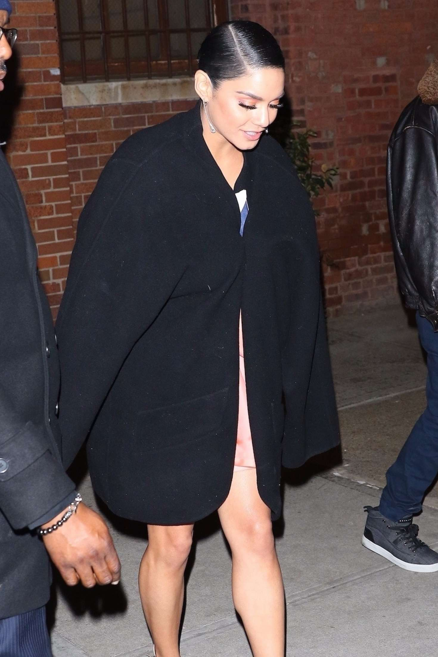 Vanessa Hudgens - Leaving the premiere 'Second Act' in New York City