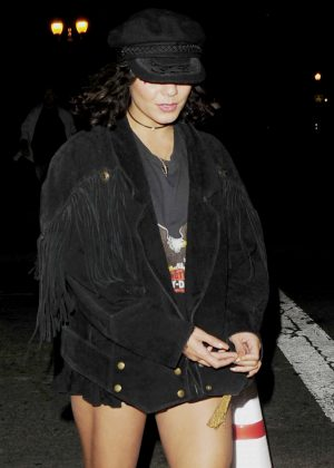 Vanessa Hudgens - Leaving the Radiohead Concert in Los Angeles