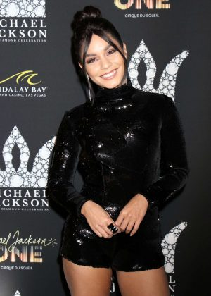 Vanessa Hudgens - Michael Jackson Diamond Birthday Celebration in Las Vegas