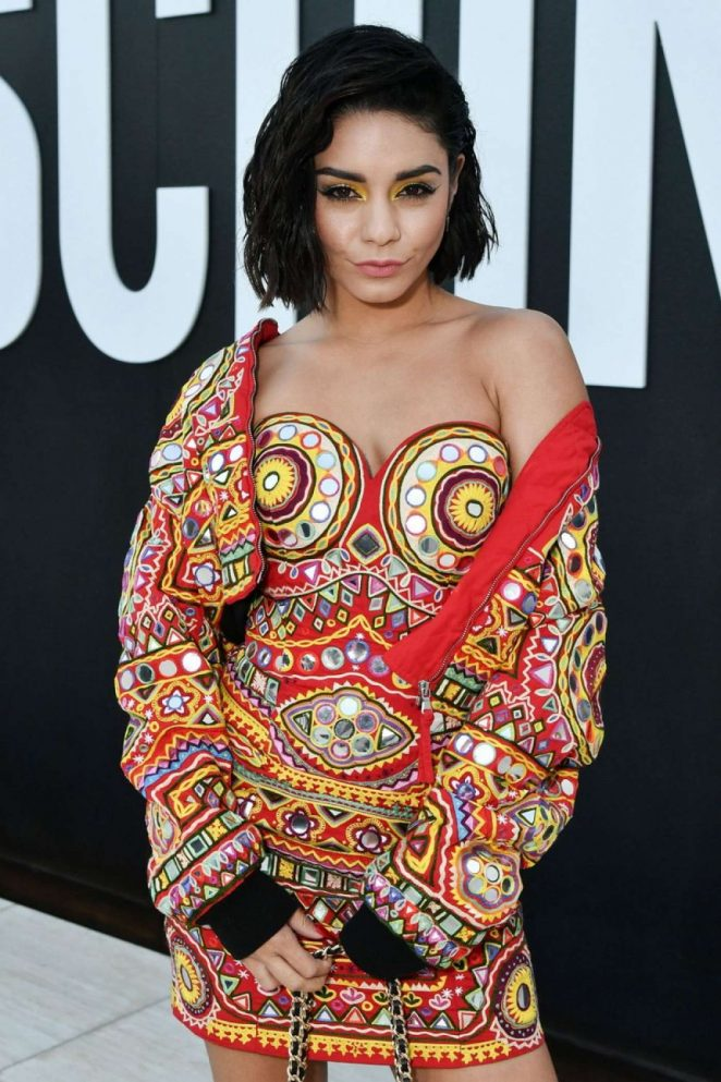 Vanessa Hudgens - MOSCHINO SS 2018 Resort Collection in LA