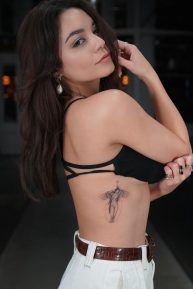 Vanessa Hudgens - New tattoo and instagram medias