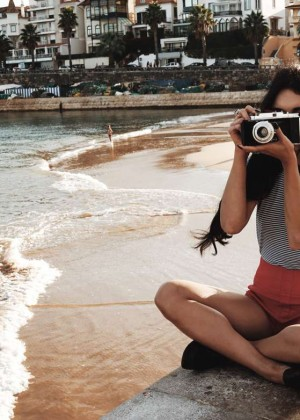 Vanessa Hudgens - Nico Guilis Photoshoot for Find Your California Travel