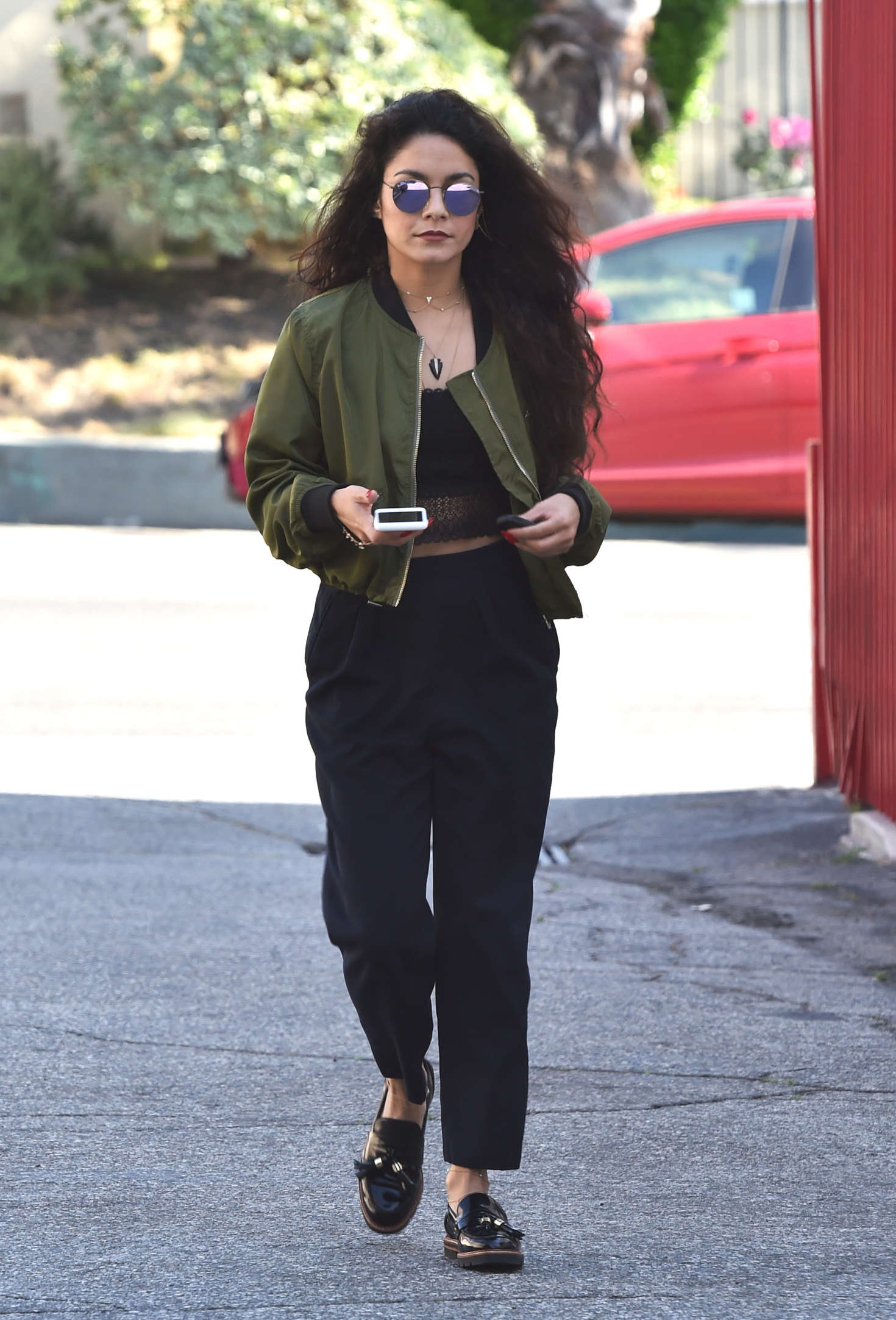 Vanessa Hudgens 2016 : Vanessa Hudgens Out and about in Hollywood -06