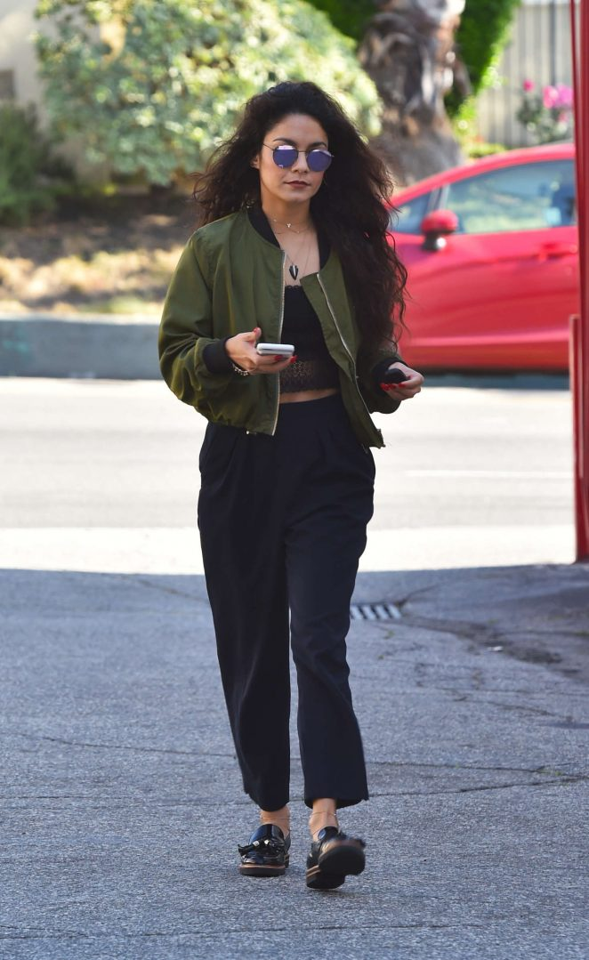 Vanessa Hudgens Out and about in Hollywood