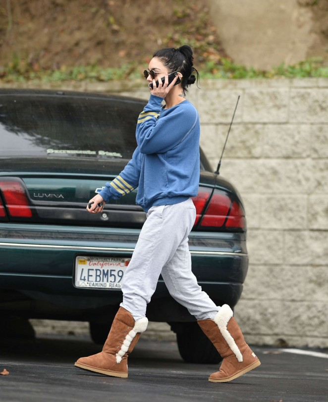 Vanessa Hudgens - Out and about in Los Angeles