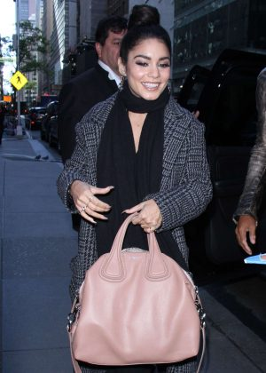 Vanessa Hudgens - Out and about in New York