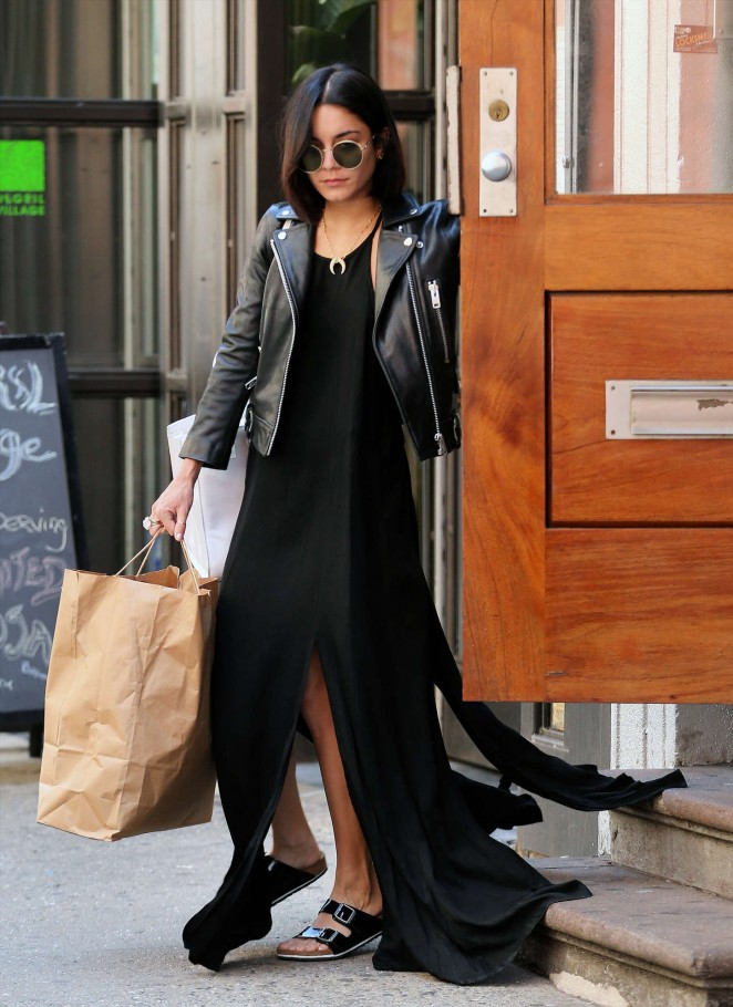 Vanessa Hudgens – Out and about in NYC