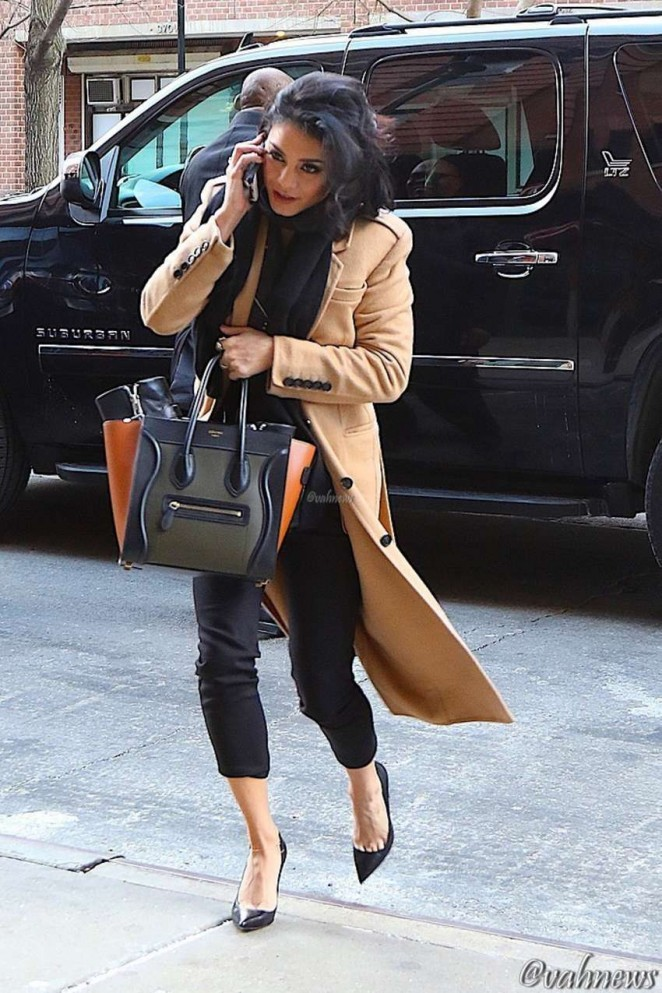 Vanessa Hudgens - Out and About in NYC