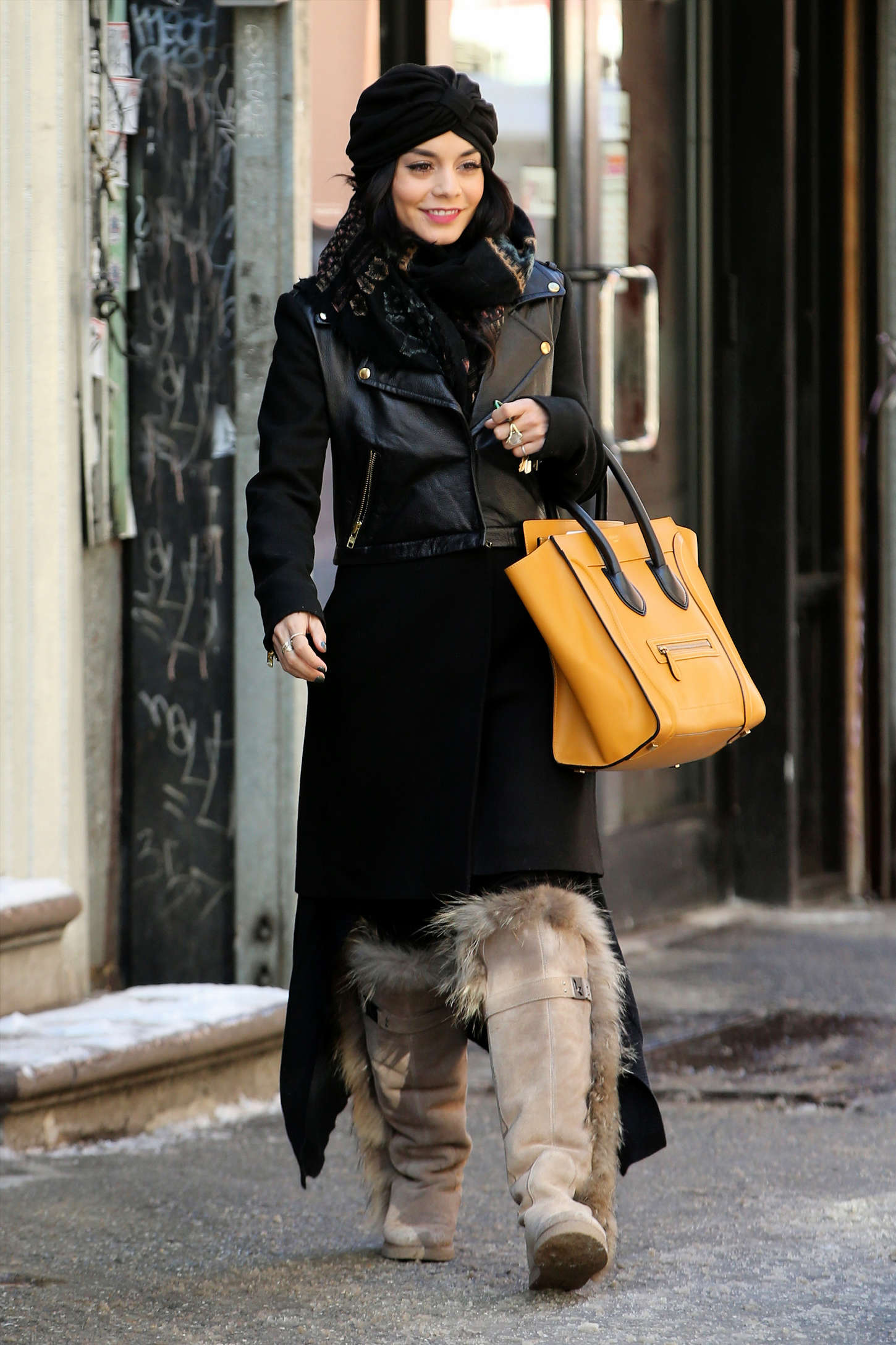 Vanessa Hudgens 2015 : Vanessa Hudgens: Out and about in NYC-03