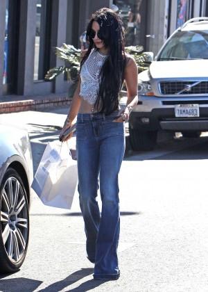 Vanessa Hudgens in Jeans -01