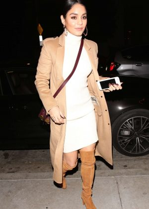 Vanessa Hudgens - Out for a dinner at Catch LA in West Hollywood