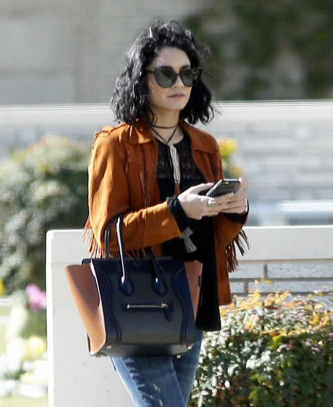 Vanessa Hudgens out in Burbank