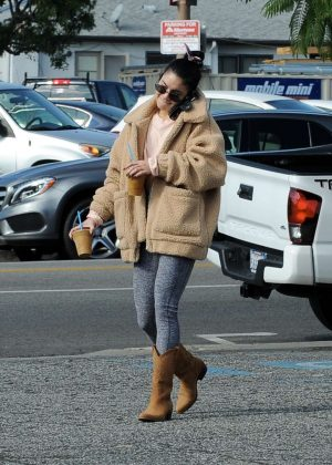 Vanessa Hudgens - Out in Los Angeles