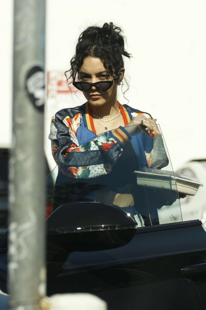 Vanessa Hudgens - Out in Los Feliz