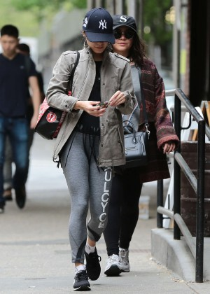Vanessa Hudgens Out in NYC