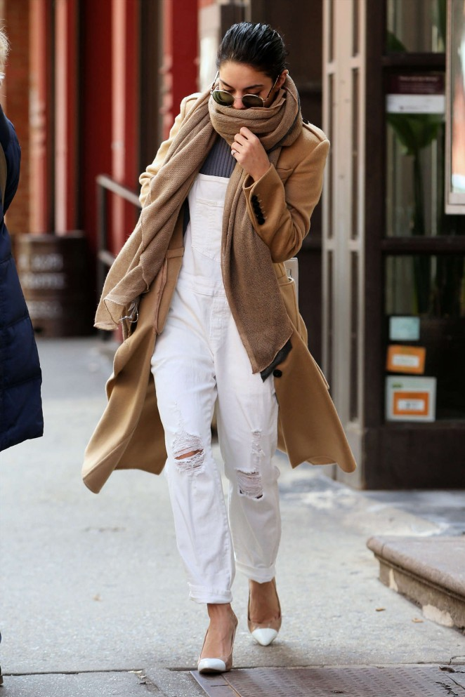 Vanessa Hudgens - Out in NYC