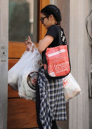 Vanessa Hudgens out in Soho