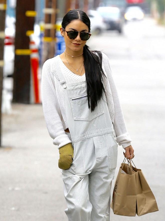 Vanessa Hudgens out in Studio City