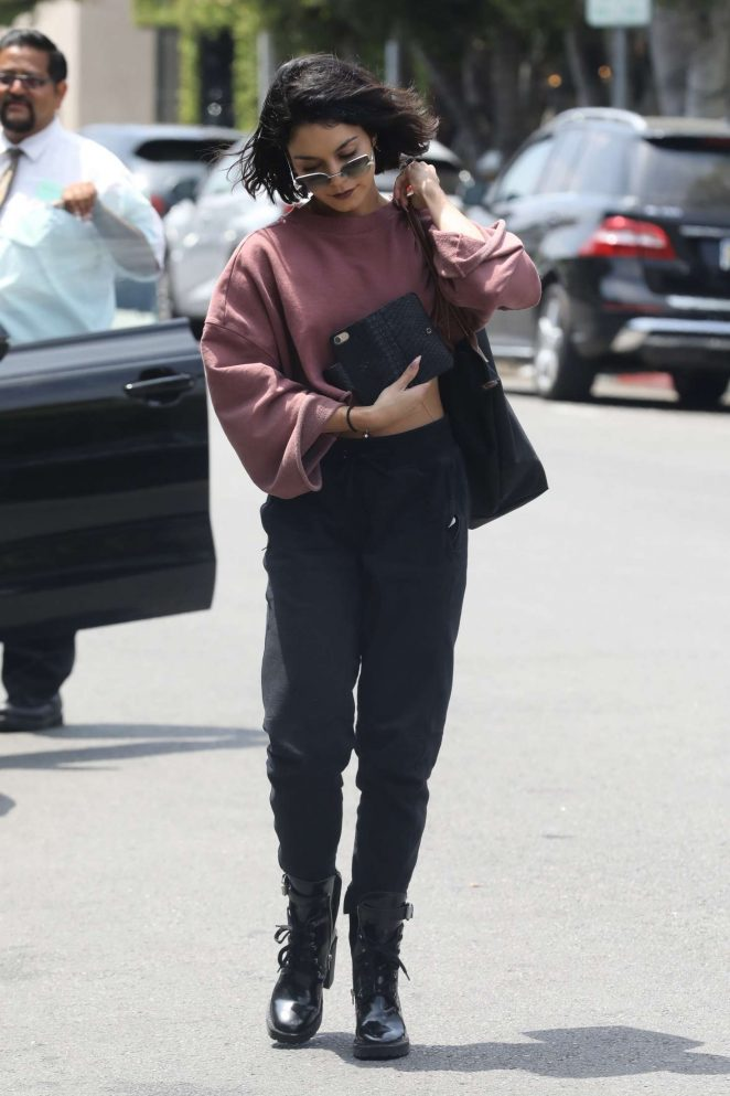 Vanessa Hudgens out in West Hollywood