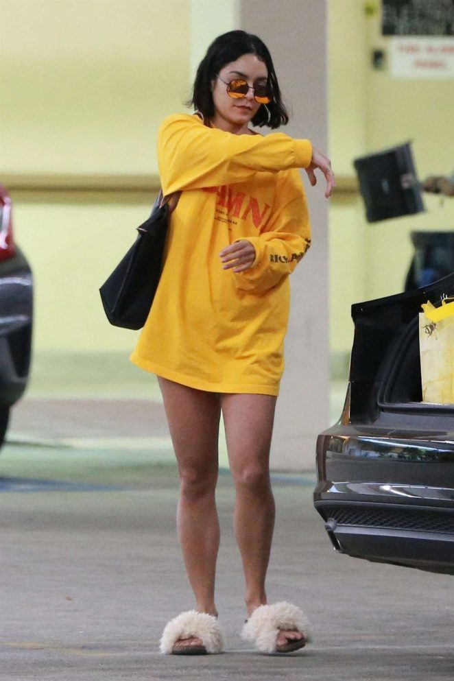 Vanessa Hudgens out shopping in Studio City