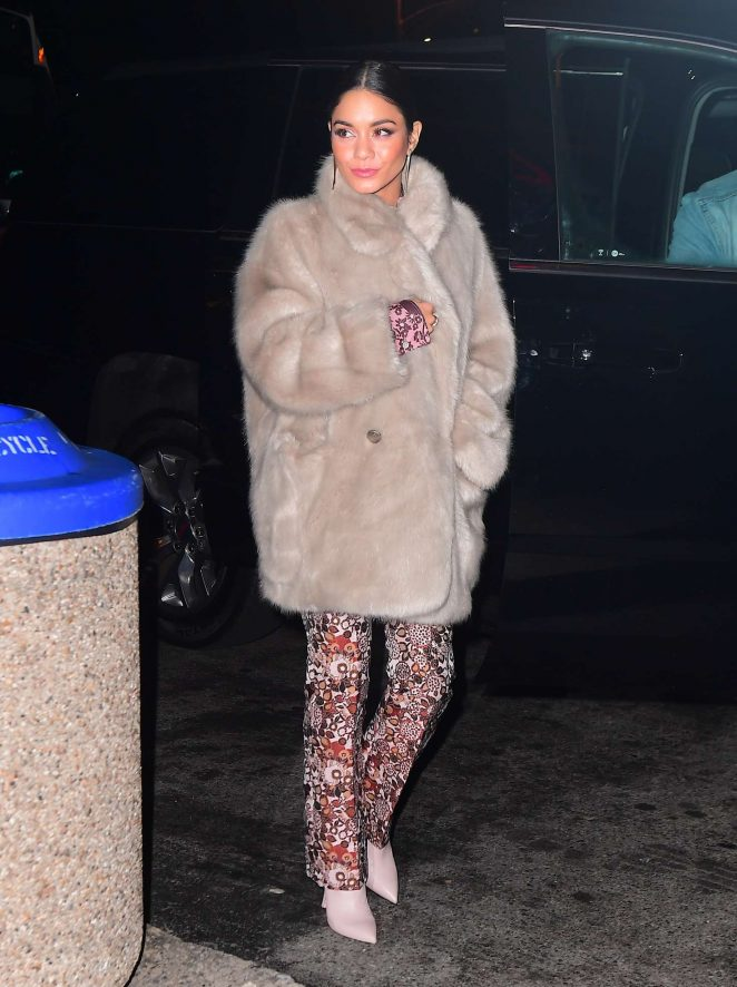 Vanessa Hudgens - Outside a 'Second Act' Screening in the Bronx