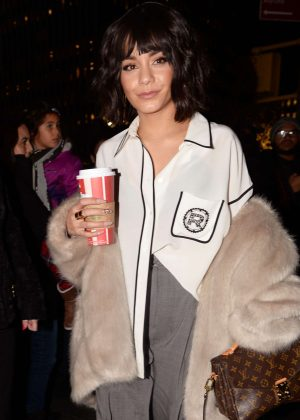 Vanessa Hudgens - Outside NBC Studios in NYC