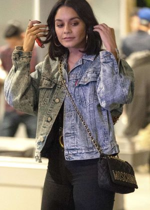 Vanessa Hudgens - Outside Universal Studios for Halloween Horror Nights in LA