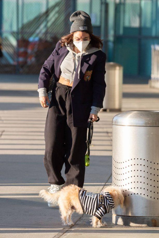 Vanessa Hudgens - Pictured at JFK Airport in New York