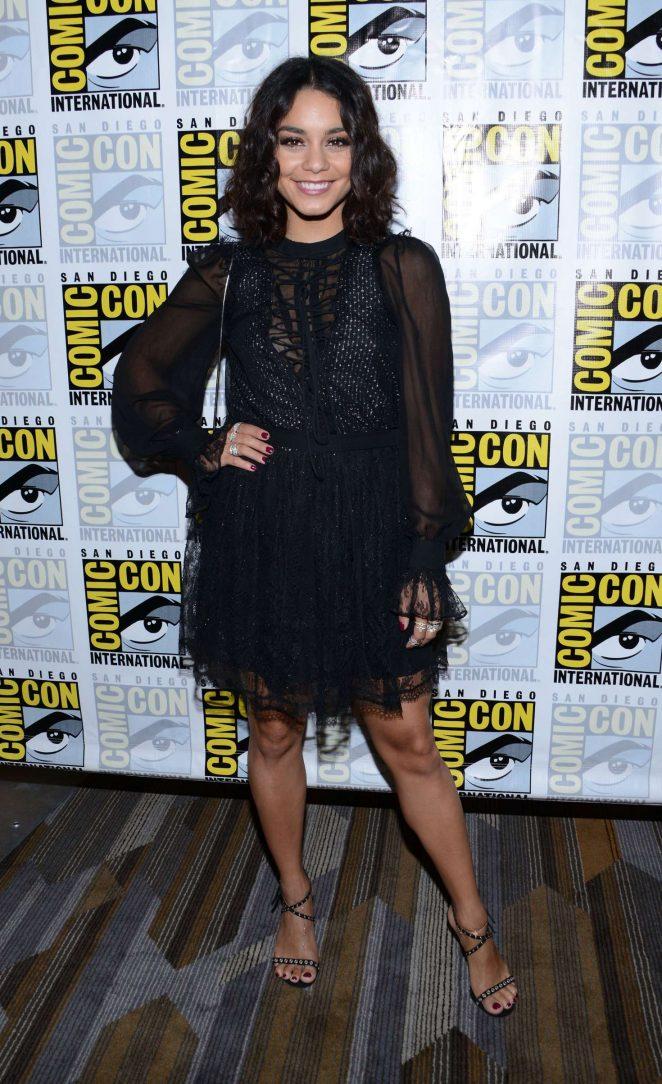 Vanessa Hudgens - 'Powerless' Press Line at Comic-Con International in San Diego