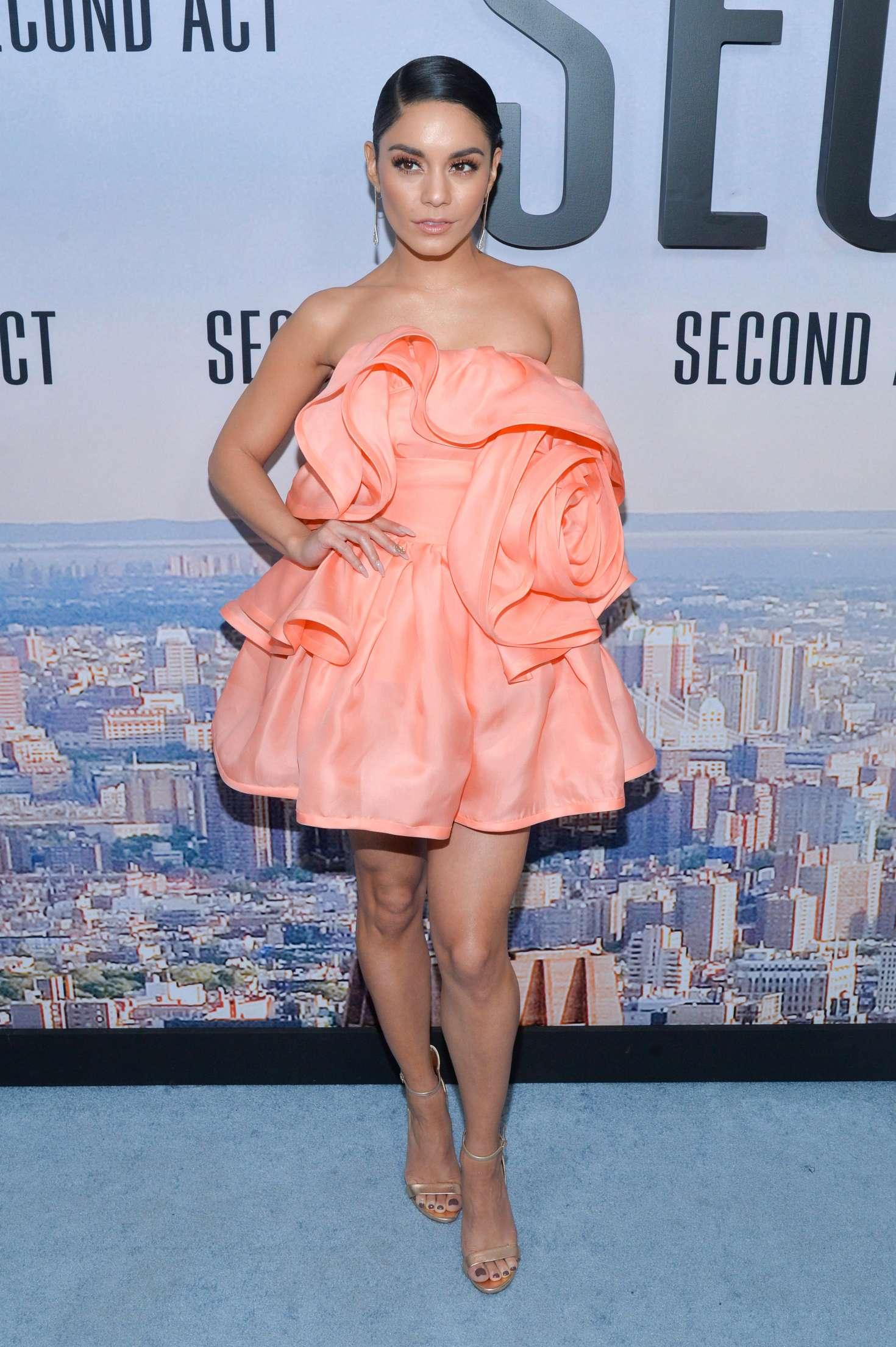 Vanessa Hudgens 2018 : Vanessa Hudgens: Second Act Premiere in NYC -05