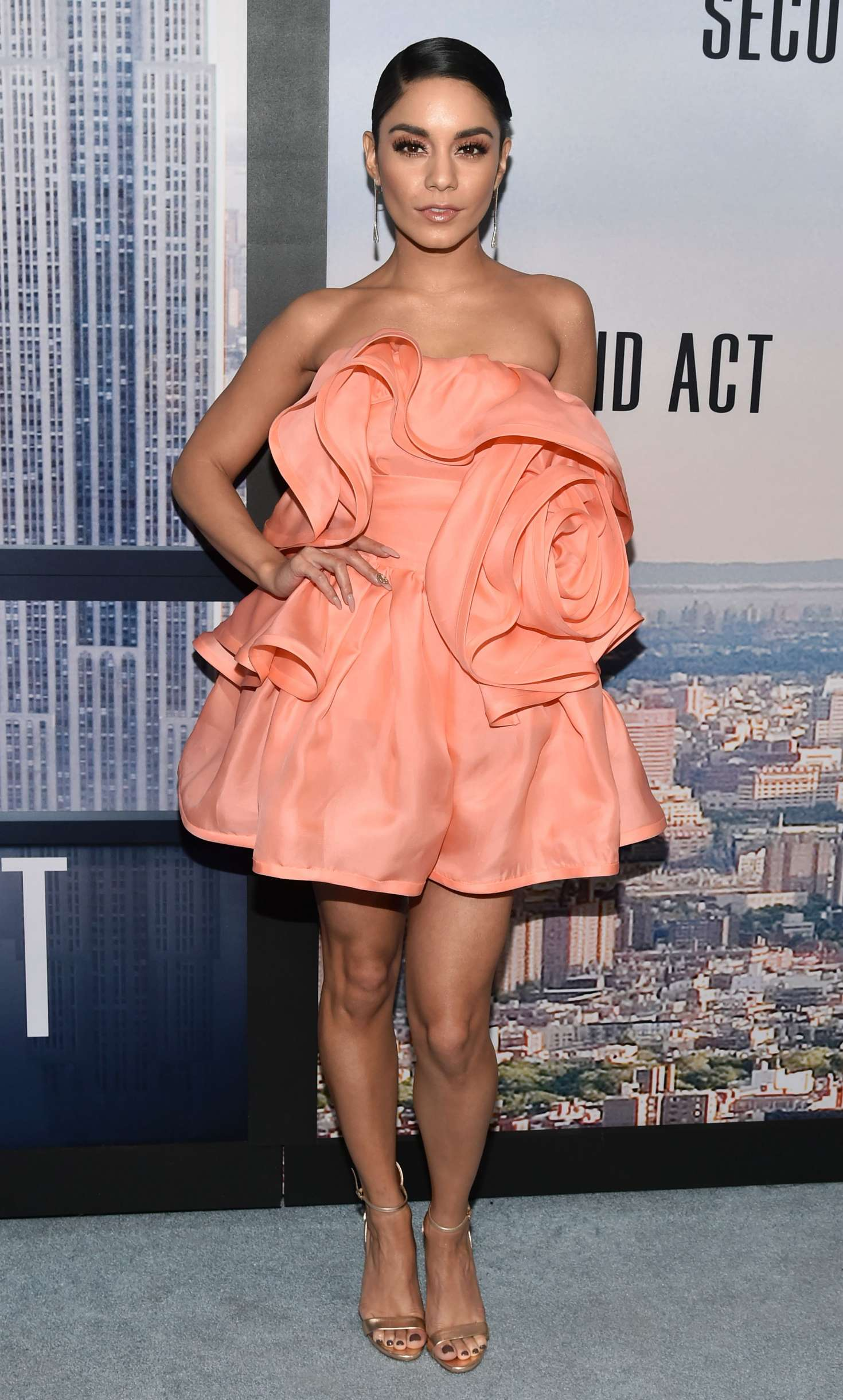Vanessa Hudgens 2018 : Vanessa Hudgens: Second Act Premiere in NYC -08
