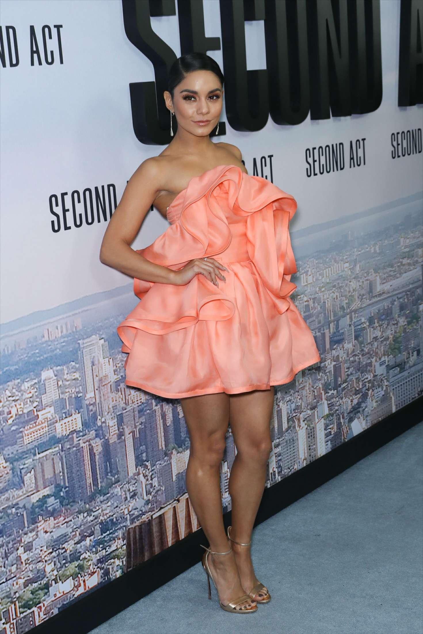 Vanessa Hudgens 2018 : Vanessa Hudgens: Second Act Premiere in NYC -10