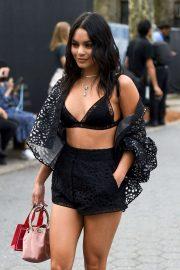 Vanessa Hudgens - Seen outside Carolina Herrera fashion show during NYFW 2019