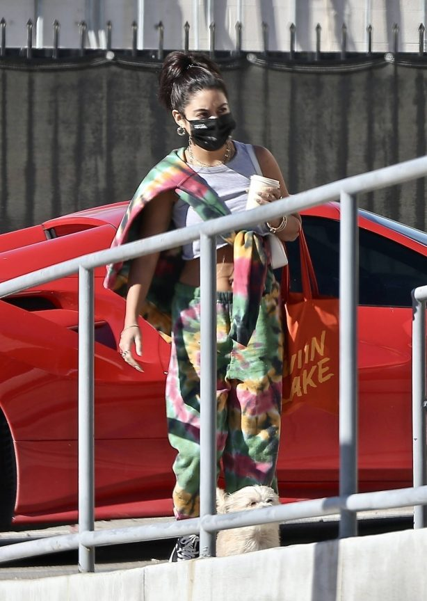 Vanessa Hudgens - Seen while she heads to a photoshoot in Los Angeles