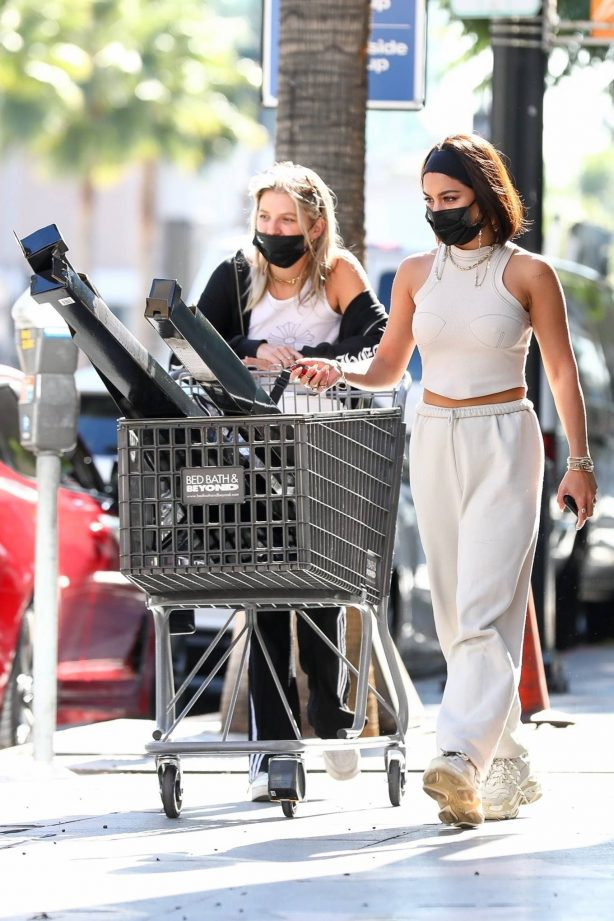 Vanessa Hudgens - Seen while shopping with her friend GG Magree in Los Angeles