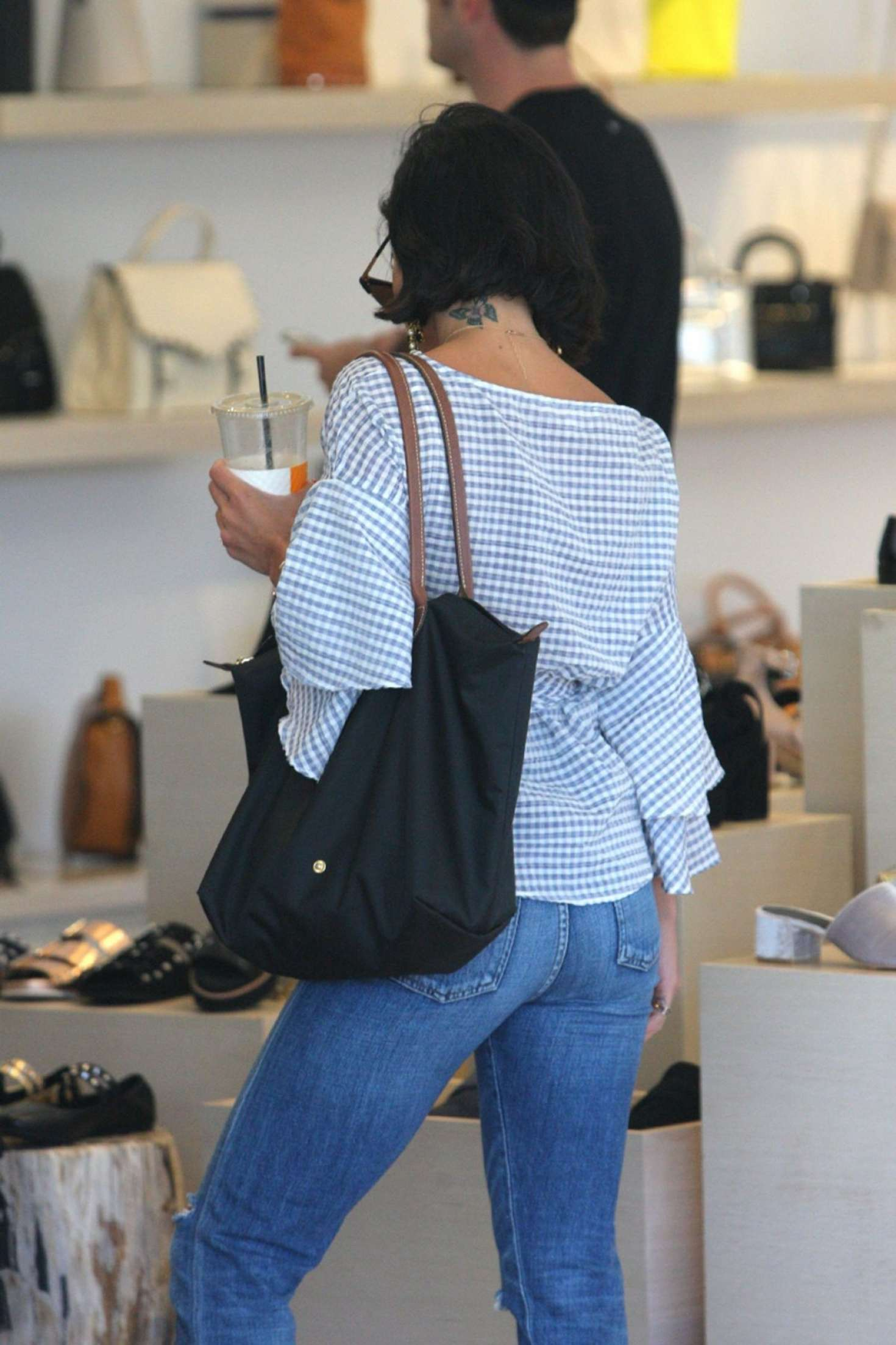 Vanessa Hudgens - Shopping at L'agence in West Hollywood