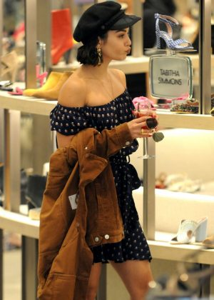 Vanessa Hudgens - Shopping at Neiman Marcus in Beverly Hills
