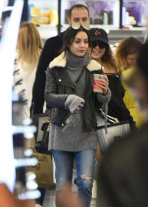 Vanessa Hudgens - Shopping at Sephora in Los Angeles