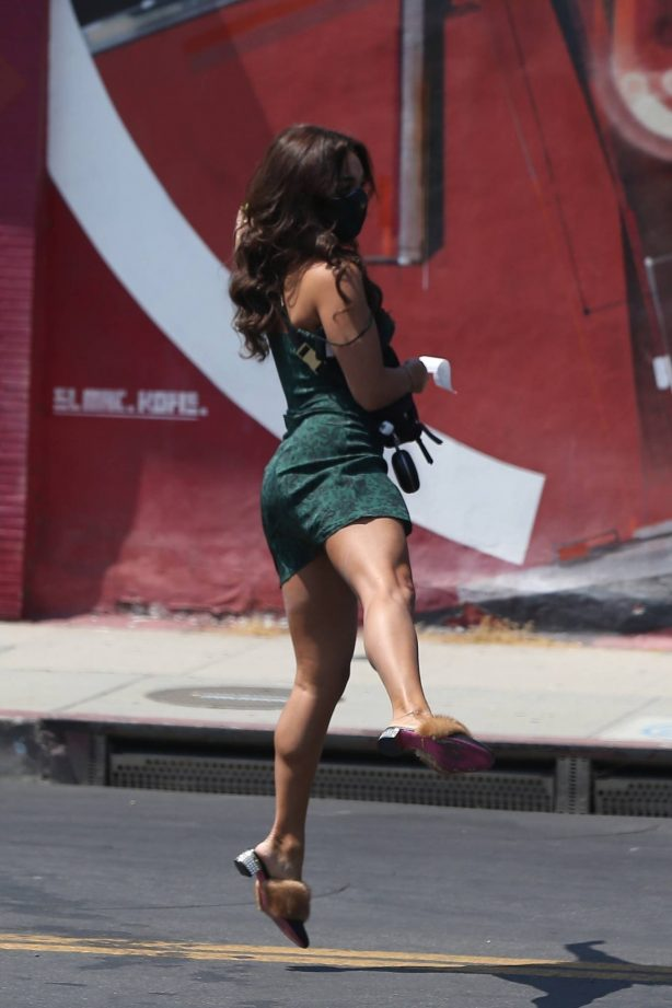 Vanessa Hudgens - Shopping candids with her new BFF GG Magree in West Hollywood