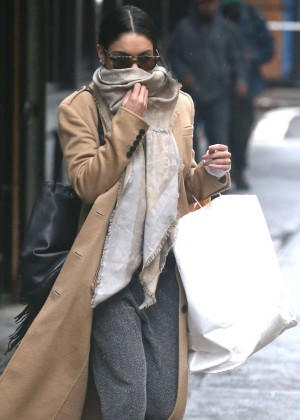 Vanessa Hudgens Style - Out and about in NYC