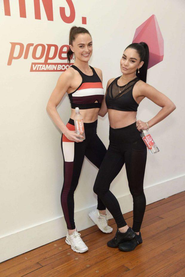Vanessa Hudgens 2019 : Vanessa Hudgens: Works out with Propel Vitamin Boost -04