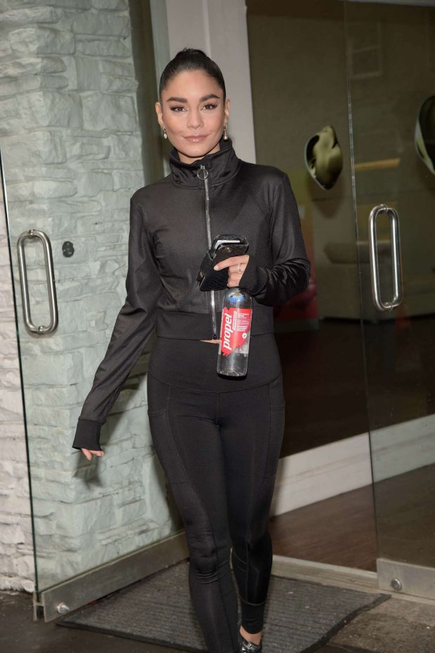 Vanessa Hudgens: Works out with Propel Vitamin Boost -06