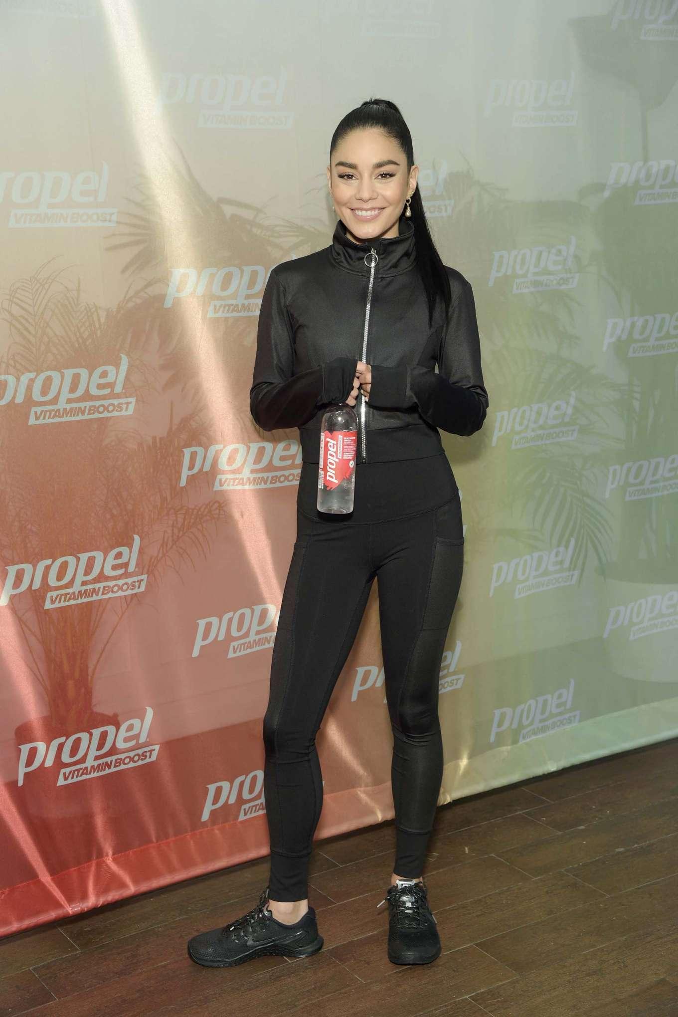 Vanessa Hudgens 2019 : Vanessa Hudgens: Works out with Propel Vitamin Boost -16