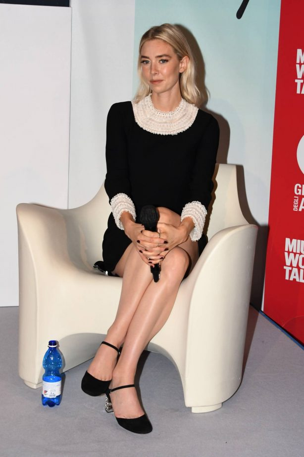 Vanessa Kirby at 'Miu Miu Woman's Tales' press conference - 2020 Venice Film Festival
