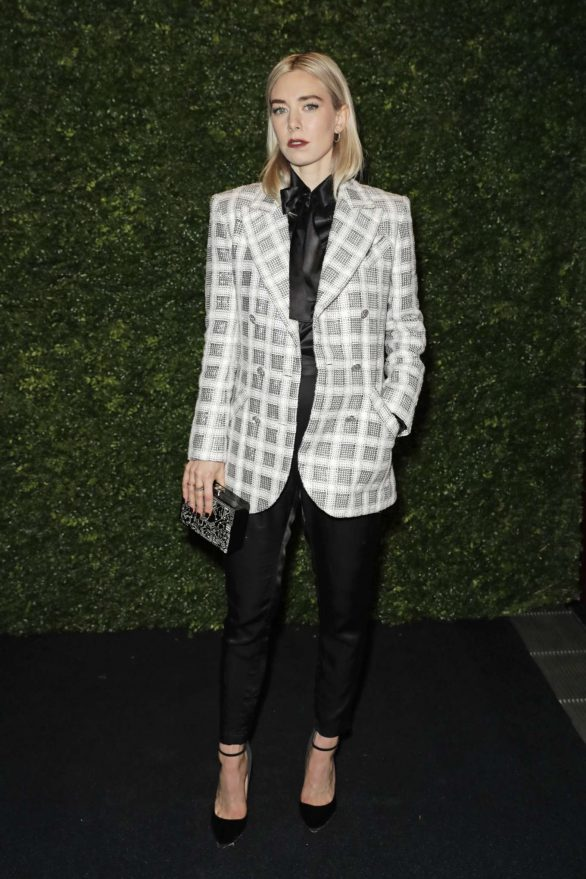 Vanessa Kirby - Charles Finch and Chanel Pre-BAFTA Party in London