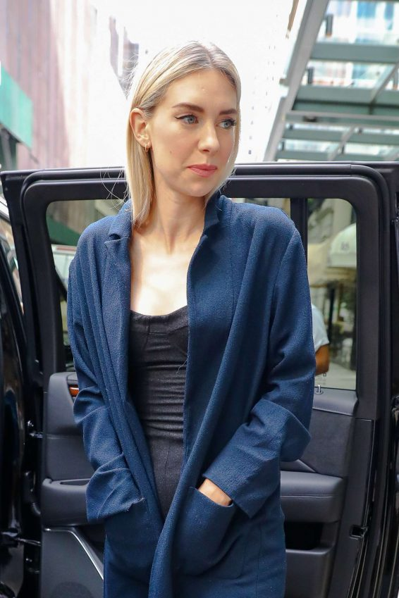 Vanessa Kirby - Heads to 'The Tonight Show Starring Jimmy Fallon' in New York