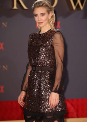 Vanessa Kirby - 'The Crown' Season 2 Premiere in London