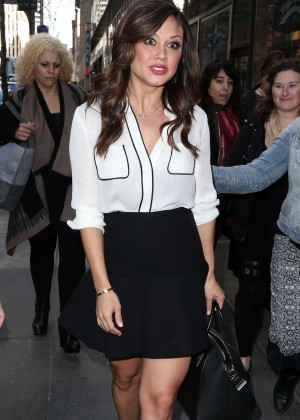 """Vanessa Lachey - Arriving at """"Today Show"""" in NYC"""