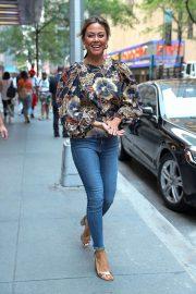 Vanessa Lachey - Leaving The NBC Studios in New York City