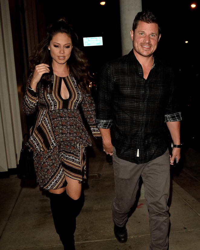 Vanessa Lachey out in West Hollywood